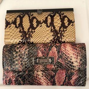 Bundle of wallets Kenneth Cole & 47 Maple